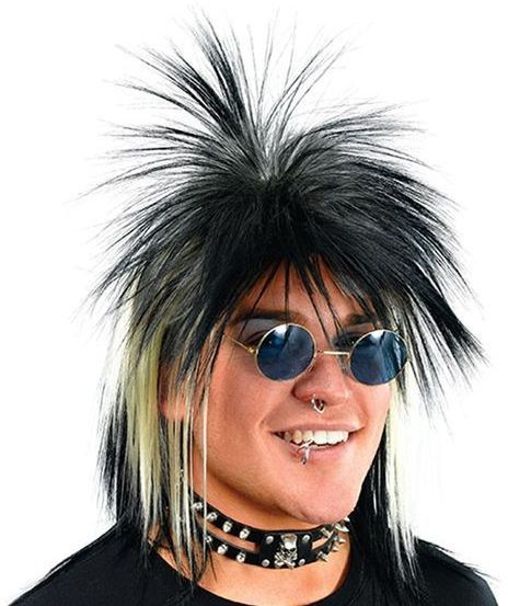 Punk(Spikey) Limahl Style Wig (1970S , 1980S Fancy Dress Wigs)