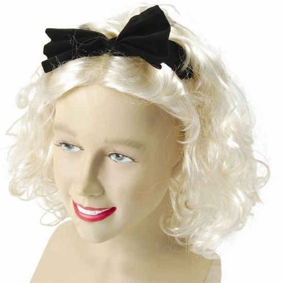Material Girl Wig (1980S , Music Fancy Dress Wigs)