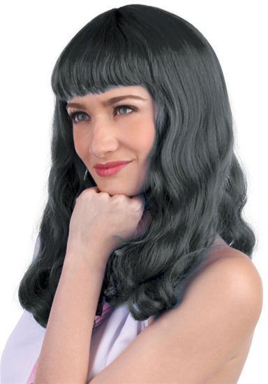 Katy. Black (Fancy Dress Wigs)