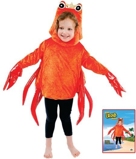 Crab Fancy Dress Costume