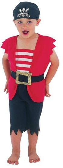 Pirate Boy Toddler Fancy Dress Costume