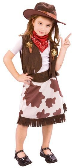 Cowgirl Toddler Fancy Dress Costume