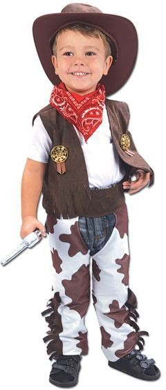 Cowboy Toddler Fancy Dress Costume
