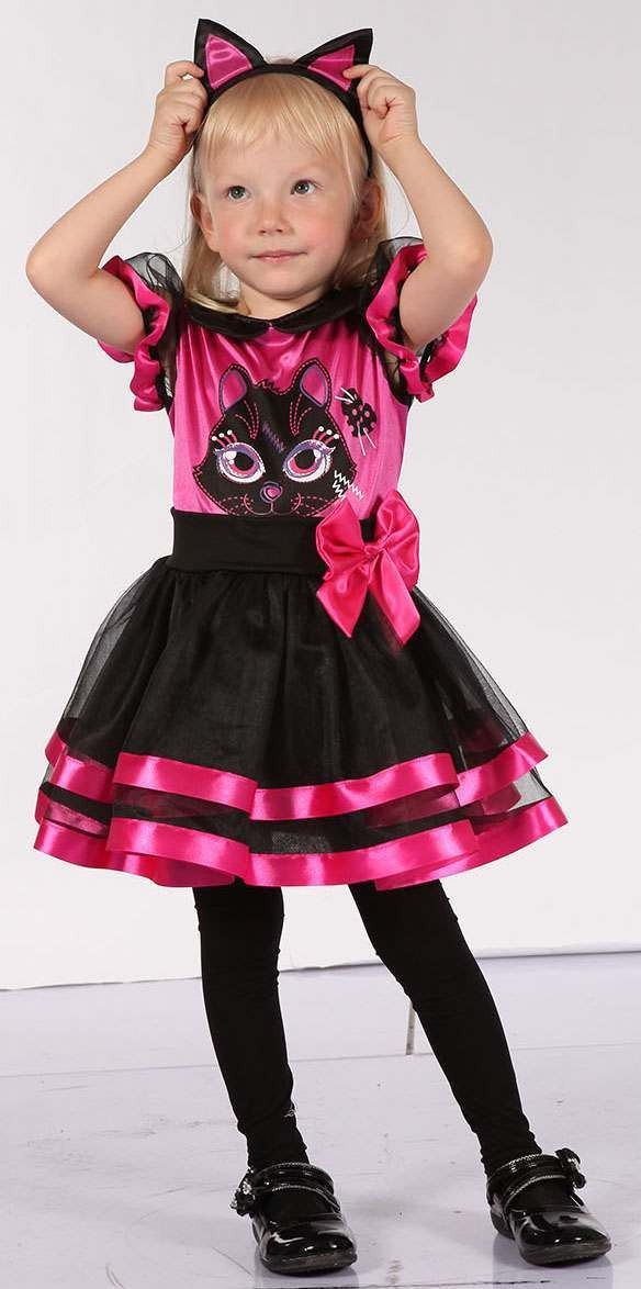Toddler Pink (Pink Kitty) Fancy Dress Costume