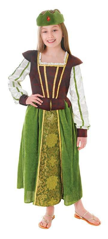 Girls Fantasy Princess Fancy Dress Costume
