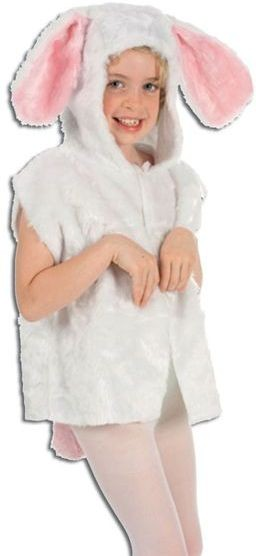 Rabbit Fur Tabbard Fancy Dress Costume