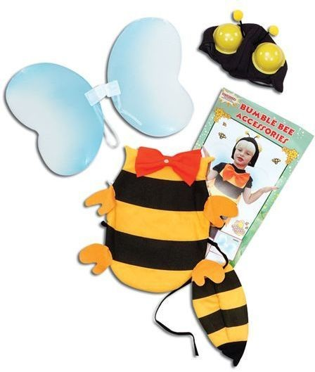 Bumble Bee Dress Up Kit (Animals Fancy Dress)