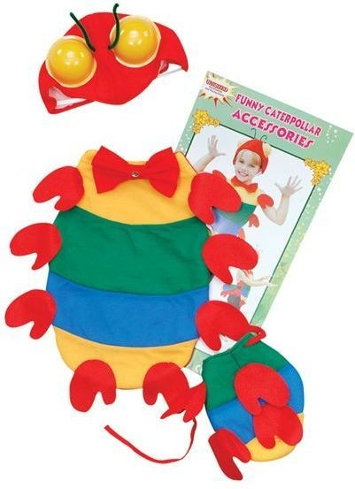 Caterpillar Dress Up Kit (Animals Fancy Dress)