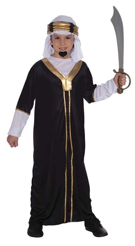 Boys Sultan Fancy Dress Costume