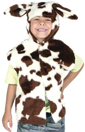 Cow Fur Tabbard (Animals Fancy Dress)