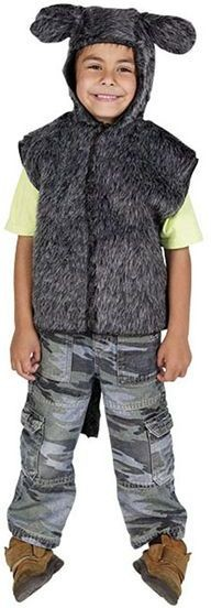 Donkey Fur Tabbard Fancy Dress Costume