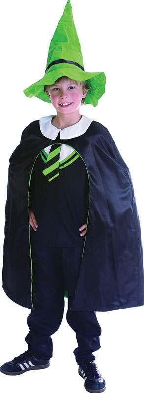 Boys Magician Boy Fancy Dress Costume