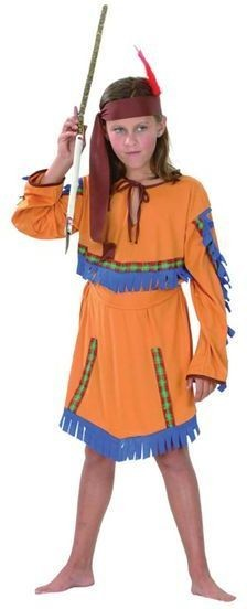 Indian Girl. Budget Fancy Dress Costume