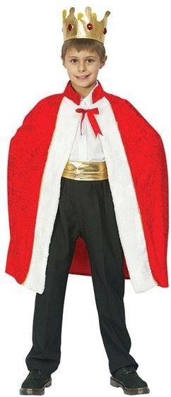 Kings Robe. Prepacked Fancy Dress Costume