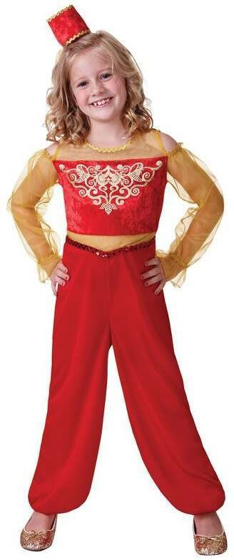Girls Princess Aladdin Fancy Dress Costume