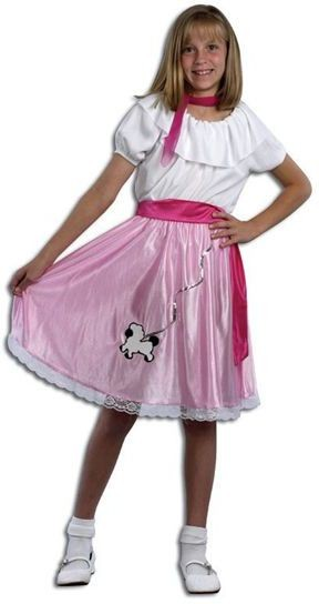 50'S Teeny Bopper Fancy Dress Costume
