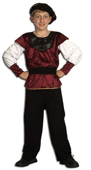 Renaissance Prince Fancy Dress Costume