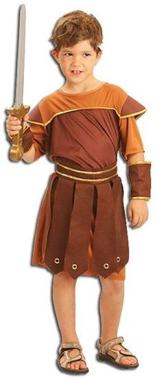 Roman Soldier Fancy Dress Costume