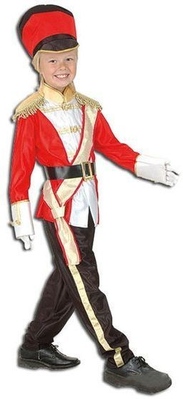Toy Soldier Fancy Dress Costume