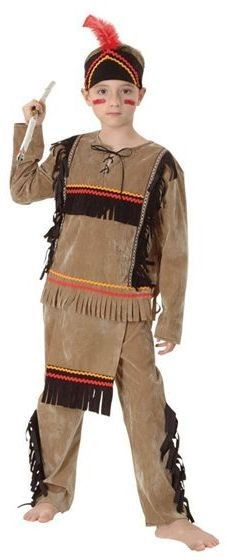 Indian Boy Deluxe Fancy Dress Costume