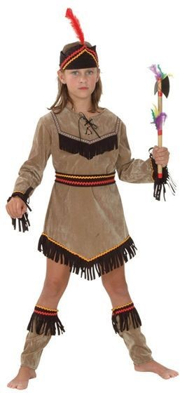 Indian Girl Deluxe Fancy Dress Costume