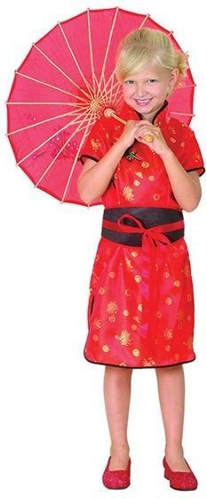 Chinese Girl Fancy Dress Costume