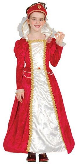 Red Princess Fancy Dress Costume