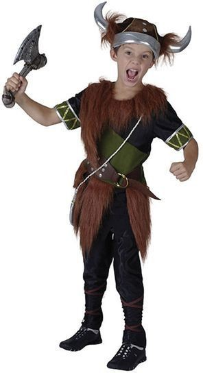 Viking Boy Fancy Dress Costume