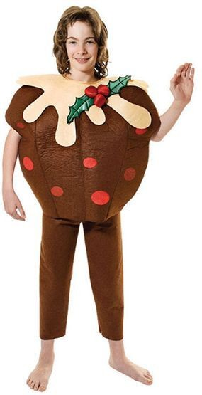 Christmas Pudding Fancy Dress Costume