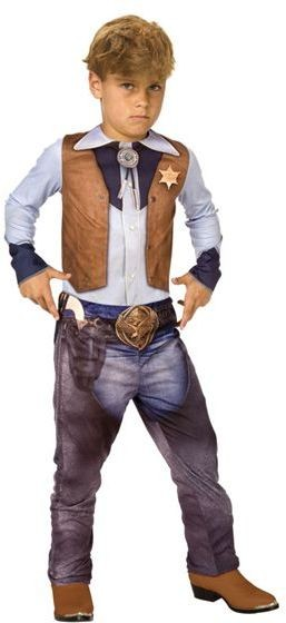 Cowboy 3D. Fancy Dress Costume
