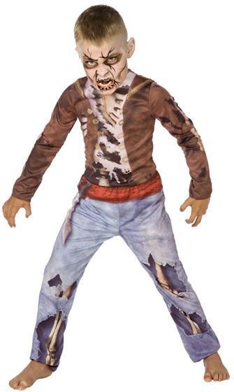 Dead Pirate 3D. Fancy Dress Costume