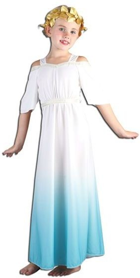 Roman Goddess Fancy Dress Costume