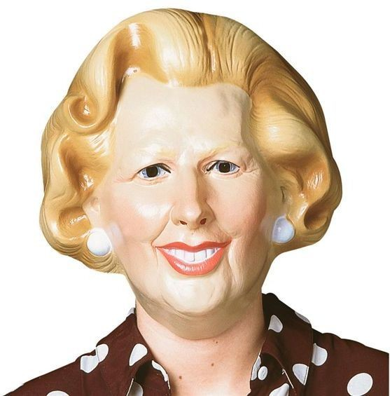 Maggie Thatcher (1970S , Heroes Fancy Dress Masks)
