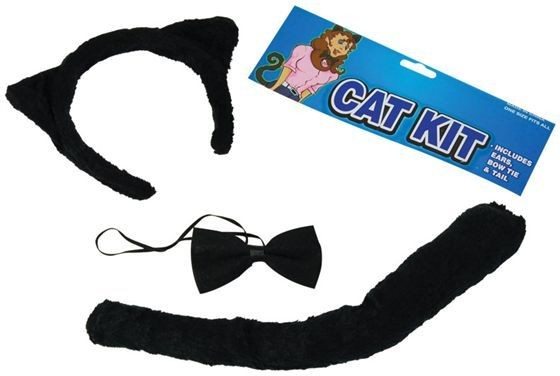 Cat Set (Animals Fancy Dress Disguises)