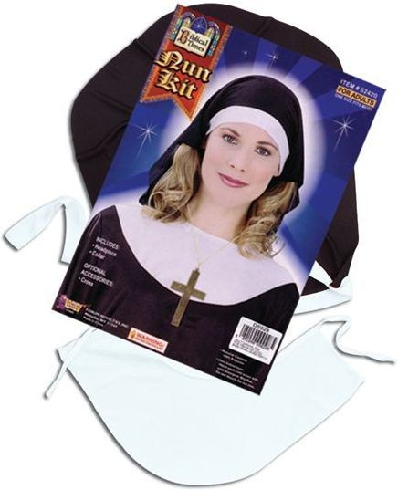 Nun Kit (Vicars/Nuns Fancy Dress Disguises)