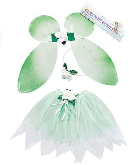 Fairy Set Green. Childs (Fairy Tales Fancy Dress Disguises)