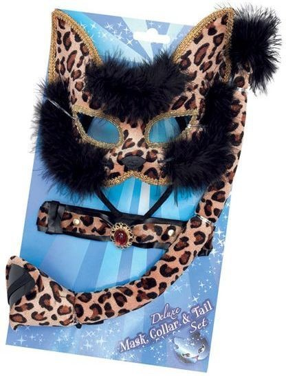 Leopard Set Deluxe (Animals Fancy Dress Disguises)