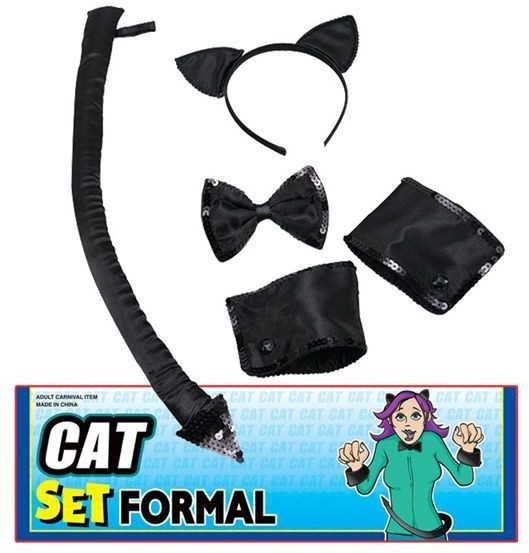 Cat Set Formal (Animals Fancy Dress Disguises)