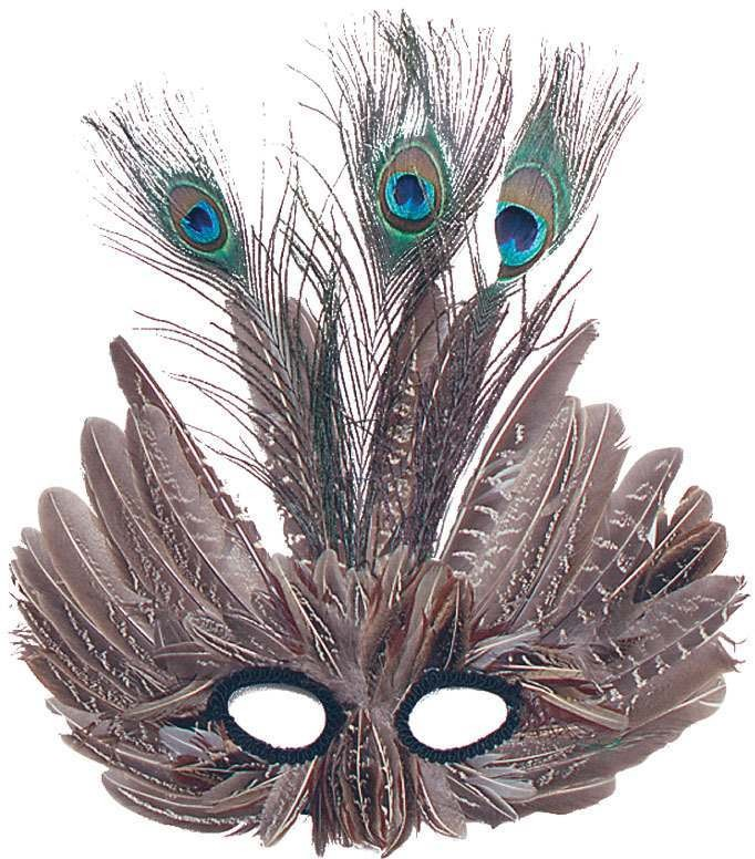Peacock, Feather Fancy Dress Eyemask