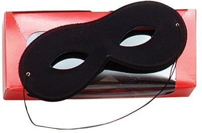 Small Black, Rayon (Fancy Dress Eyemask)