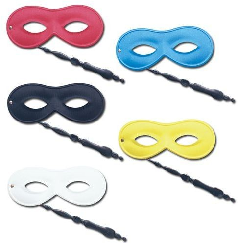 Eye Mask On Stick. 5 Asstd (Fancy Dress Eyemasks)