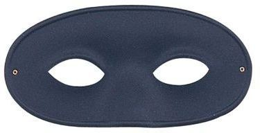 Gent'S Large Eye Mask, Black (Fancy Dress Eyemasks)