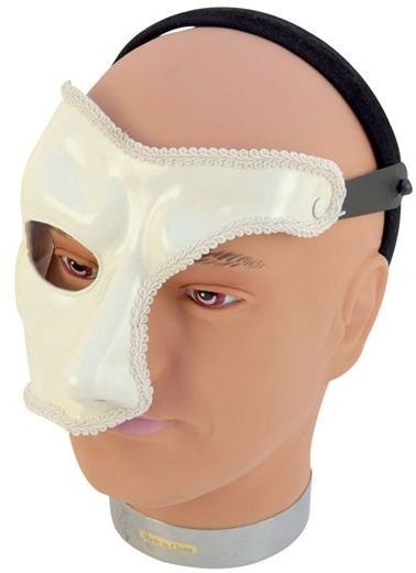 Phantom Mask On Band (Fancy Dress Eyemasks)