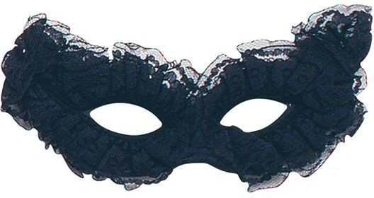 Venetian Carnival Mask. Black (Fancy Dress Eyemasks)