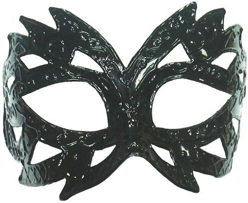 Black Pattern Mask (Fancy Dress Eyemasks)