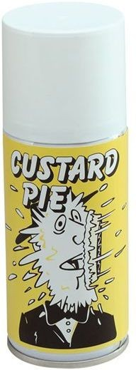 Custard Pie. Foam 114G Can (Fancy Dress)