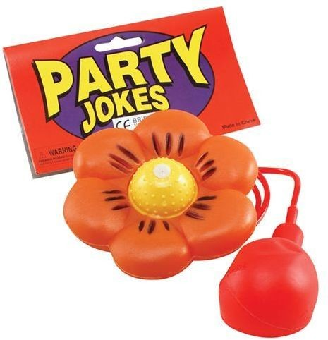 Water Squirt Flower Daisy Large (Clowns Fancy Dress Tricks)