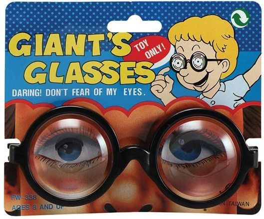 Giants Glasses. (Fancy Dress Glasses)