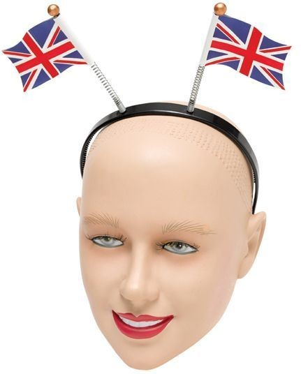 Union Jack Head Boppers (Cultures Fancy Dress)