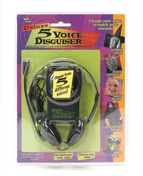 Voice Changer & Headset Microphone (Fancy Dress)